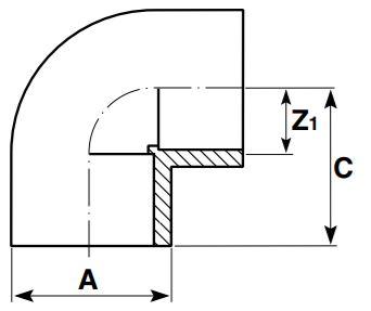 AirLine-Elbow-90-Diagram