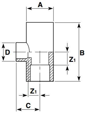 AirLine-Reducing-Tee-Diagram