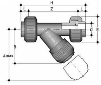 ABS-UV-Y-Strainer-Diagram