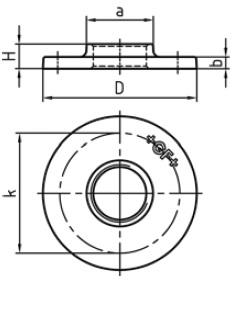 Malleable Iron Flange