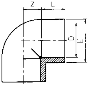 PVC-Elbow-90-Diagram