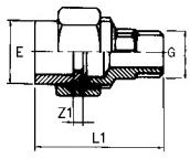 PVC-composite-union-male-Diagram