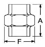 Malleable Iron Flat Seat Union